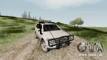 Mitsubishi Pajero v1.2 pour GTA San Andreas
