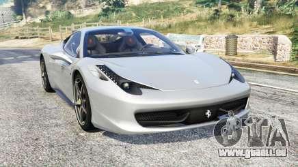 Ferrari 458 Italia 2009 v2.3 [replace] für GTA 5