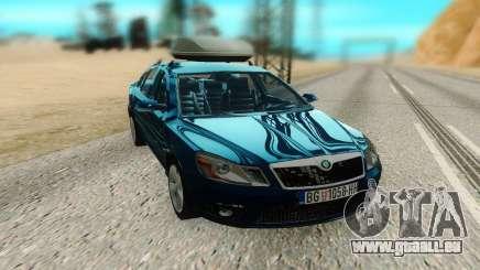 Skoda Octavia Mk2 pour GTA San Andreas