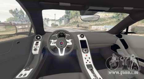 GTA 5 McLaren MP4-12C 2011 v1.1 [replace] arrière droit vue de côté