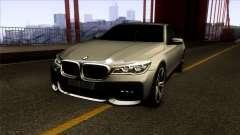 BMW 760i 2017 pour GTA San Andreas