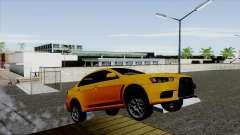 Mitsubishi Lancer Evo X Full Tunable pour GTA San Andreas