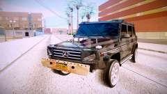 Mercedes-Benz G63 pour GTA San Andreas