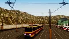 Tatra T6B5SU Barnaul pour GTA San Andreas