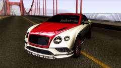 Bentley Continental SS 17 pour GTA San Andreas