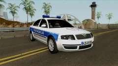 Skoda SuperB Policija Republike Srpske pour GTA San Andreas