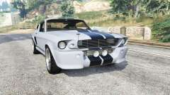 Ford Shelby Mustang GT500 Eleanor 1967 [replace] pour GTA 5