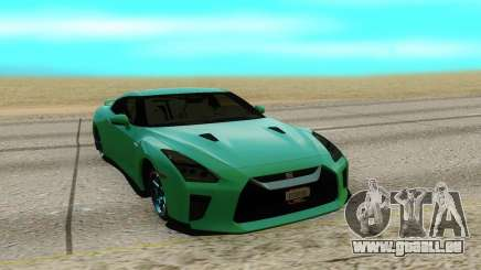 Nissan GTR R35 pour GTA San Andreas