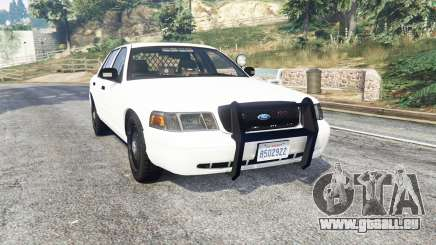 Ford Crown Victoria Unmarked CVPI v2.0 [replace] pour GTA 5
