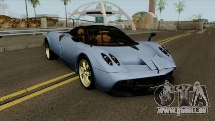 Pagani Huayra 2013 Extra Spoiler für GTA San Andreas