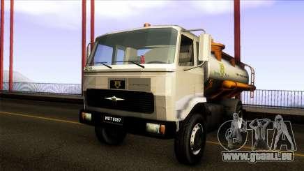 FAP Vacuum Sewage Truck Harimau Water Konsortium pour GTA San Andreas