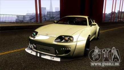 Toyota Supra Rocket Bunny 1993 pour GTA San Andreas