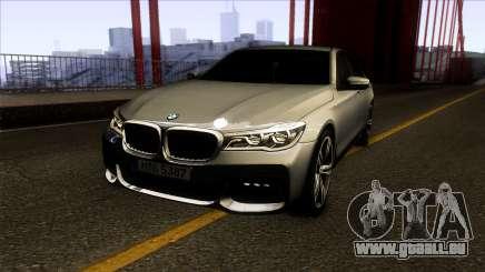 BMW 760i 2017 für GTA San Andreas