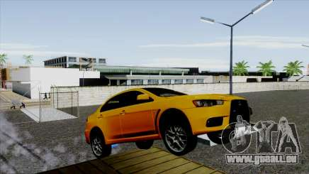 Mitsubishi Lancer Evo X Full Tunable für GTA San Andreas