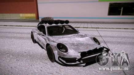 Porsche 911 GT3 silver für GTA San Andreas