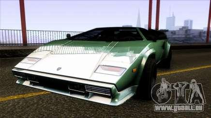 Lamborghini Countach Extra Wide Wheels für GTA San Andreas