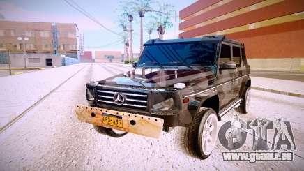 Mercedes-Benz G63 für GTA San Andreas