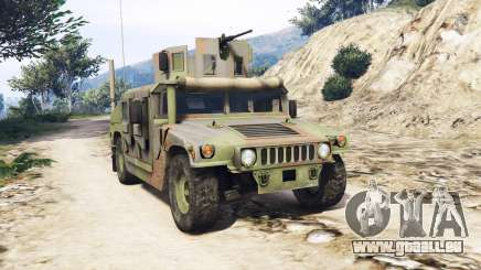 HMMWV M-1116 Woodland v1.1 [replace] für GTA 5
