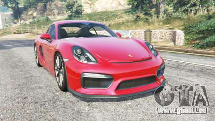 Porsche Cayman GT4 (981C) 2016 v1.2 [replace] für GTA 5