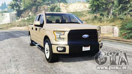 Ford F-150 Lariat SuperCrew 2015 v1.1 [replace] für GTA 5