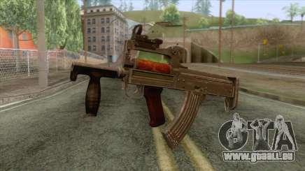 Playerunknown Battleground - OTs-14 Groza v3 für GTA San Andreas