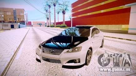Lexus IS F pour GTA San Andreas