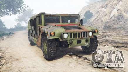 HMMWV M-1116 Unarmed Woodland [replace] für GTA 5