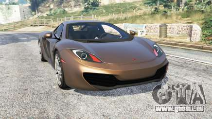 McLaren MP4-12C 2011 v1.1 [replace] für GTA 5