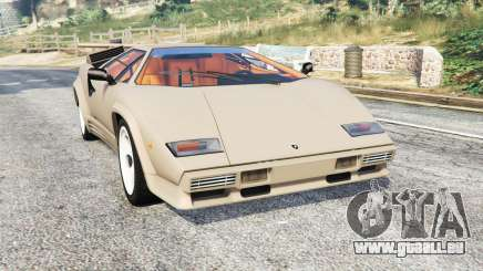 Lamborghini Countach LP5000 1988 v1.3 [replace] pour GTA 5