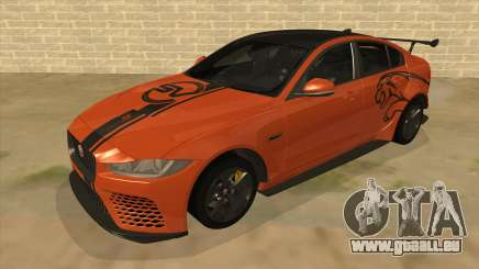 2017 Jaguar XE SV Project 8 pour GTA San Andreas
