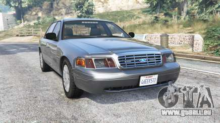 Ford Crown Victoria 2001 police [replace] für GTA 5