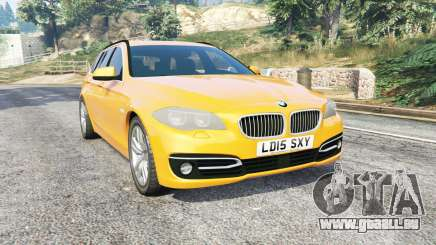 BMW 525d Touring (F11) 2015 (UK) v1.1 [replace] pour GTA 5