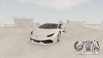 Lamborghini Huracan SA Plate pour GTA San Andreas