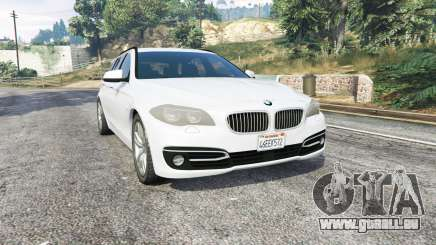 BMW 525d Touring (F11) 2015 (US) v1.1 [replace] pour GTA 5