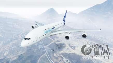 Airbus A380-800 v1.2 [replace] für GTA 5
