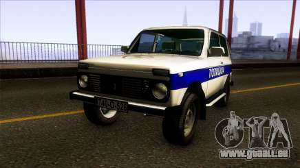 Lada Niva 4X4 Policija Republika Srpska pour GTA San Andreas