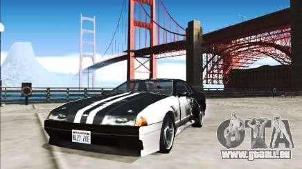 Élégie Travail De Peinture Plus Sombre Que Le Noir pour GTA San Andreas