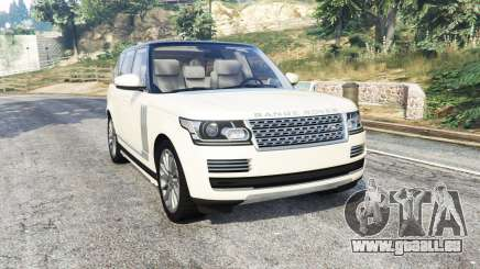 Land Rover Range Rover Vogue 2013 v1.3 [replace] pour GTA 5