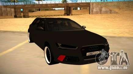Audi RS6 Avant C7 pour GTA San Andreas