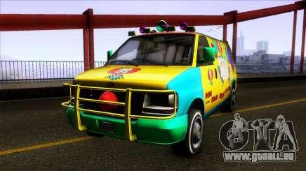 GTA V Vapid Clown Van für GTA San Andreas