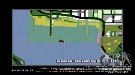 UFO Vossk Station GOF2 pour GTA San Andreas sixième écran