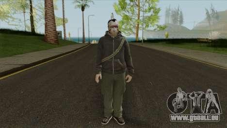 Random Ped 1 From GTA Online für GTA San Andreas zweiten Screenshot