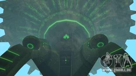 UFO Vossk Station GOF2 pour GTA San Andreas troisième écran