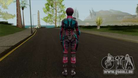 Maven Valentine from Ghost in Shell First pour GTA San Andreas