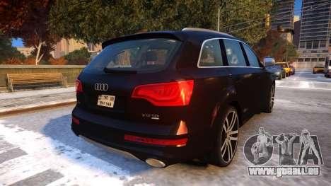 Audi Q7 V12 TDI 2009 Baku Style (fix parameters) pour GTA 4 est un droit