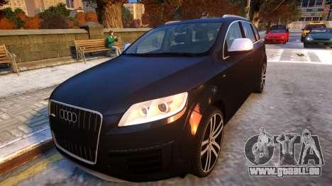 Audi Q7 V12 TDI 2009 Baku Style (fix parameters) pour GTA 4