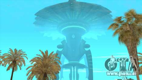 UFO Vossk Station GOF2 pour GTA San Andreas