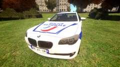 BMW Police Nationale pour GTA 4