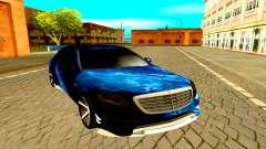 Mercedes-Benz W222 black pour GTA San Andreas