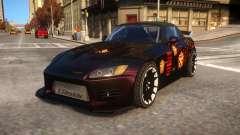 Fast And Furious 1 Honda S2000 Movie Car für GTA 4